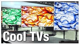 Top 5 Coolest New TVs of 2017