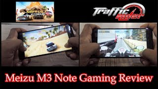 Meizu M3 Note Gaming Review with Asphalt Xtreme & Traffic Rider