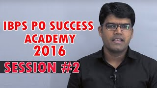 IBPS PO Success Academy 2016 || 4 Ways to Solve Aptitude Questions || Banking Careers