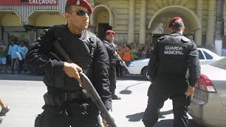 Caos no ES! Após greve da PM Guarda Municipal de Cachoeiro volta a andar armada!