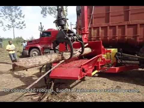 Picador Florestal Lippel PFL 400 x 700 Tractor acionado por trator de 165 CV