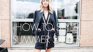 How to Style Summer Shoes | SaraEmillie