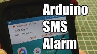 Arduino / Build An Alarm System Using Cellular SMS