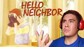 GOT THE NEIGHBOR STUCK GLITCH & CRYPTIC ENDING   Hello Neighbor Alpha 3 [Ending]