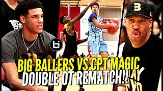 LaMelo Ball HEATED Rematch vs Compton Magic! Big Ballers WON'T GET PUNKED! Come Out STRONG