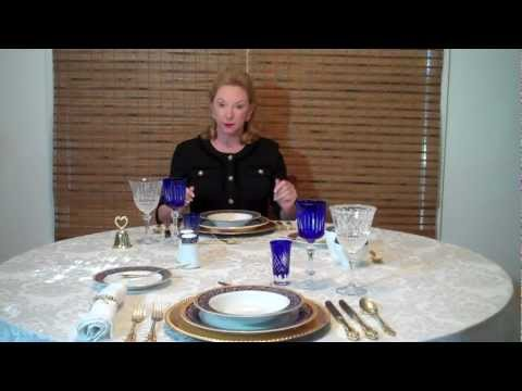 Xxx Mp4 Dining Etiquette Manners Table Etiquette Part 1 By Expert Gloria Starr 3gp Sex