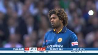 Highlights - England v Sri Lanka, NatWest T20, England innings