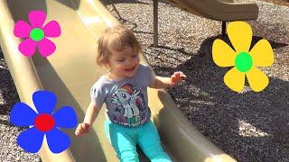 Genevieve Plays at the Playground and Lake!