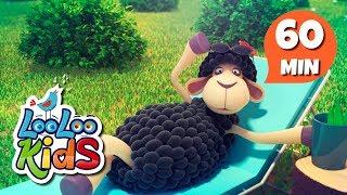 Baa, Baa, Black Sheep - Amazing Educational Songs for Children | LooLoo Kids