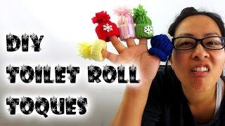 [Christmas Crafts] DIY Handmade Ornaments Yarn Toque