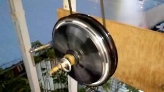 กังหันลมผลิตไฟฟ้า ทำเล่นๆให้เป็นจิรง. ใช้ร่วมกับพลังงานแสงอาทิตย์  สอบถามได้คับT 0617756065 คับ