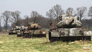 Panzerfriedhof Sögel Emsland FPV Panzer Verlassene Panzerwracks Free Tanks Abandoned Tank Wrecks
