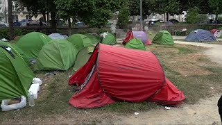 شاهد: محكمة فرنسية تقضي بإزالة 280 خيمة لاجئ و مهاجر