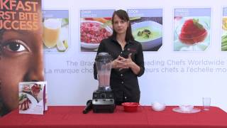 How to use your Vitamix blender