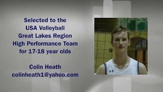 Colin Heath USA Volleyball National Tournament 2019