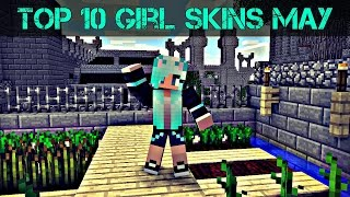 Top 10 Minecraft Girl Skins May 2017 [Download]