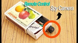 Match Boxes Remote control Spy Camera # for video and photos.