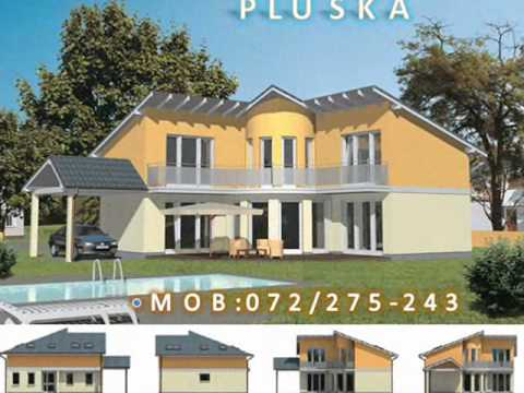 Ntp PLUSKA House Plans Plane te Shtepive