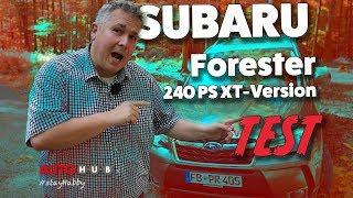 Subaru Forester XT 2017 - Test und Fahrbericht von Habby