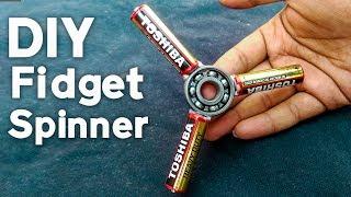 DIY Fidget Spinner How To Make Fidget Spinner with batteries 1