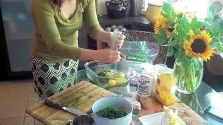 Persian Cooking Kookoo sabzi