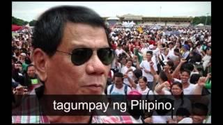 PAGBABAGO (Bagong Awit para kay Duterte) by Cesar Montano