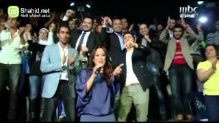Arab Idol - حلقة نتائج التصويت - المجموعة