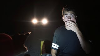 we stayed over night at clinton road... (phantom trucks caught us)