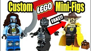 DC LEGO Knockoff Minifigures 2017