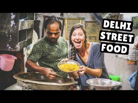 INCREDIBLE INDIAN STREET FOOD TOUR Old Delhi s Best Street Food