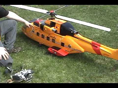 Cormorant hélicoptère téléguidé RC Scale Helicopter Cormorant