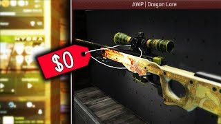 HOW I GOT A DRAGON LORE IN CS:GO FOR FREE!