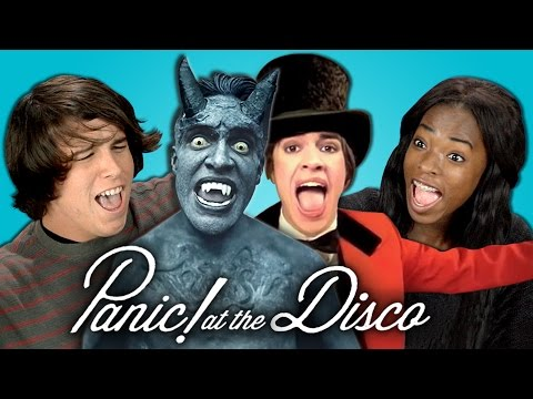 Xxx Mp4 Teens React To Panic At The Disco 3gp Sex