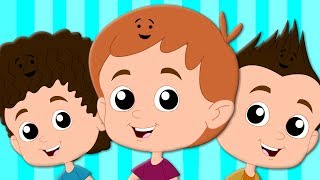 Hair Song | Original Nursery Rhymes | Songs For Children | Baby Rhymes