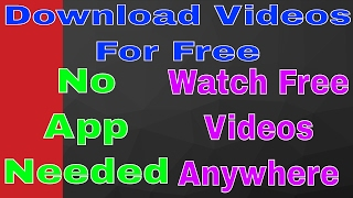 How to Download TV Shows, Videos and Movies From Any App or Any Website For Free
