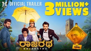 Rajaratha - Official Trailer   Nirup Bhandari   Avantika Shetty   Puneeth Rajkumar   Anup Bhandari