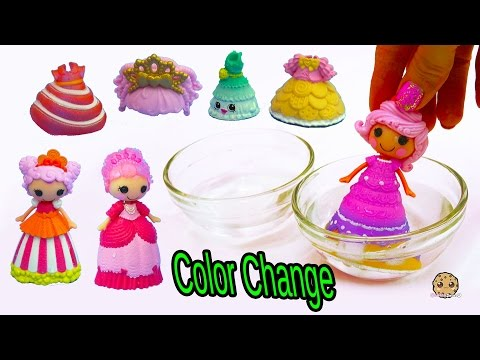 Lalaloopsy Color Changing Princess Dress Change In Water at Shopkins Fashion Boutique