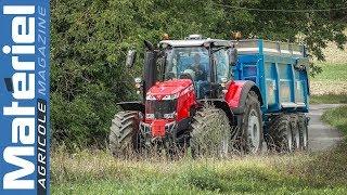 Test drive du Massey Ferguson 8740 équipé du Datatronic 5 by Matériel Agricole
