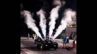 DRAG RACING HELLCAT   Crash 2018