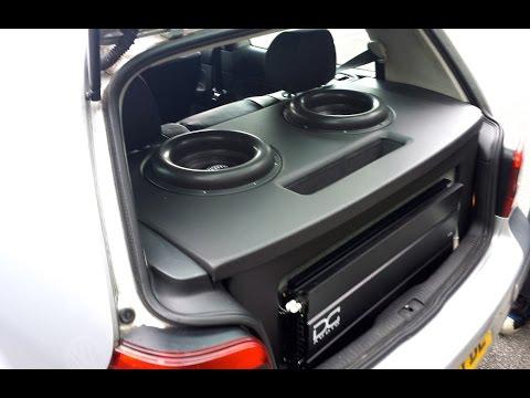 2x sundown audio zv4 12''s & 2x dc audio 5ks 151.0db @30hz 10krms Foxes-White Coats