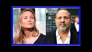 US Newspapers - Renée zellweger denies she gave harvey weinstein ual backed