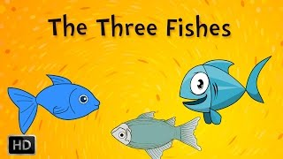 Panchatantra Stories - The Three Fishes - Animaton / Cartoon Stories for Children