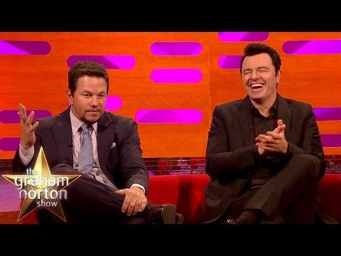 Mark Wahlberg and Seth MacFarlane Censorship Gone Horribly Wrong The Graham Norton Show