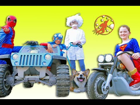 Xxx Mp4 New Sky Kids Super Episode Little Superheroes With The Doctor And The Super Squad 3gp Sex