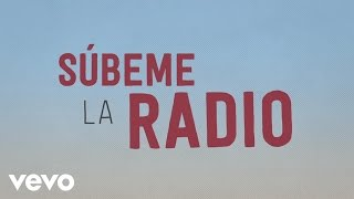Enrique Iglesias - SUBEME LA RADIO Animated Lyric Video ft. Descemer Bueno, Zion & Lennox