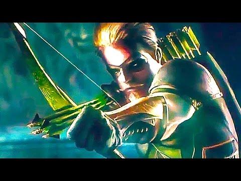 INJUSTICE 2 NEW Trailer Green Arrow Supergirl Batman 2017