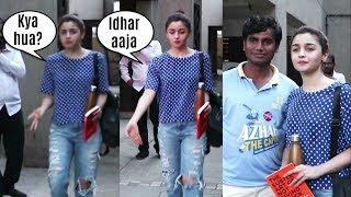Alia Bhatt Kind Gesture For A Fan Who Came From Village For Her