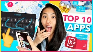 TOP 10 BEST FREE APPS you MUST HAVE for iPhones 2016! LIFE HACKS for iPhone 7, 6s Plus, and IOS 10!