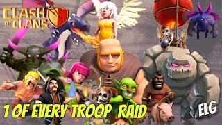 3 Star With Noahs Ark | 1 Of Every Troop | Fun Raids | Attack Strategy Gameplay | Clash of Clans