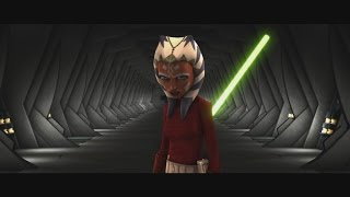 Star Wars: The Clone Wars - Ahsoka Tano & Anakin Skywalker vs. Cad Bane [1080p]